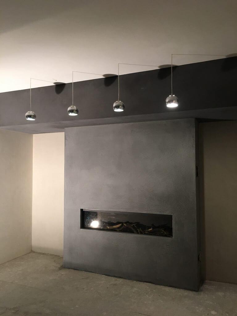 Betonlook stucwerk op uw muren? Wat zijn de m2 prijzen?